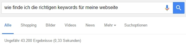 keywords finden-min
